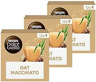 Nescafé Dolce Gusto capsules Oat Macchiato Vegan - 36 koffiecups - geschikt voor 36 koppen koffie - Dolce Gusto cups