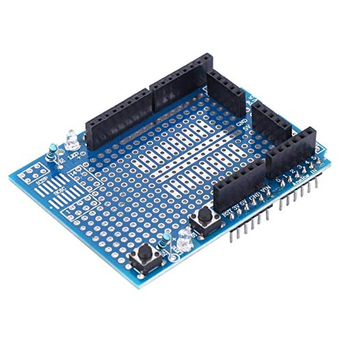 Zuverlässiger Prototyp Shield Board Zwei LEDs ProtoShield Electronic Components für Arduino