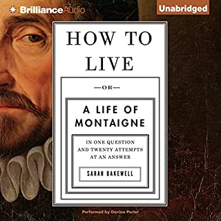 listen to the complete essays of montaigne audiobook com how to live cover art