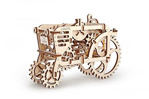 Camion par UGEARS Est Le Puzzle Mécanique en 3D Le Casse-tête En Bois Pour Les Enfants