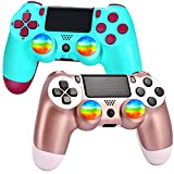 YU33 2 Pack Wireless PS4/Pa4 Controller for Playstation...
