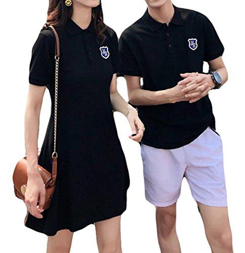 BeiBang(バイバン)ペアルック 夏物 トップス ワンピース メンズTシャツ 韓国ファッション ストリート おし...