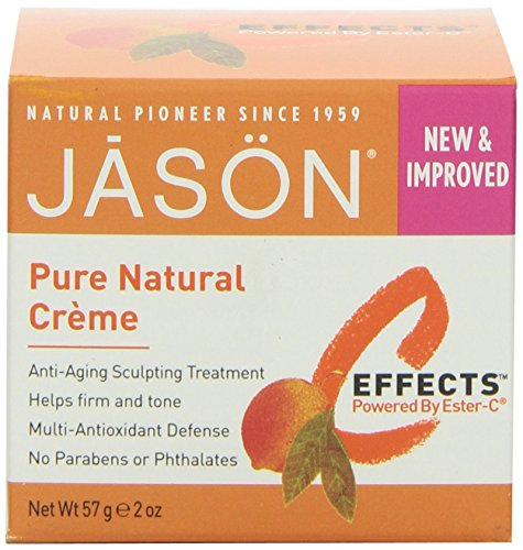 JASON NATURAL PRODUCTS PERFCT SOLUTN ESTER-C CRM, 2 OZ by Ja