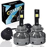 HSUNLAMP D2S LED lampadine D2R sostituiscono direttamente per auto originale HID Xenon lampada con zavorra, 100% decodifica, estremamente luminoso 6000 K, 2 pezzi