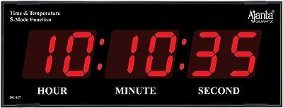 Ajanta Quartz Digital Wall Clock for Home and Office