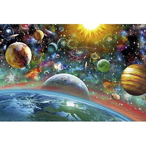 Star Wars Puzzle for adultos 5000 Piezas, adolescente niños Psychedelic juego inteligencoa juguete educativo, Familia grande al aire libre entretenimiento educativo rompecabezas mágico universo 12 (62