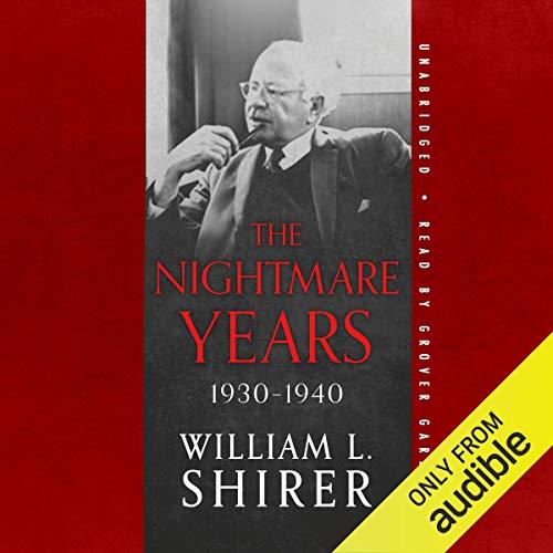 The Nightmare Years, 1930-1940 cover art