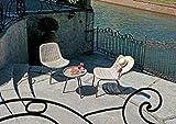 Juego de 2 sillones y una mesa Calcutta de Grey Kubu PES 39