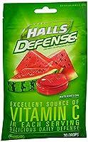 海外直送品Halls Halls Defense Vitamin C Drops Watermelon, Watermelon 30 each