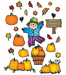 pumpkin patch bulletin board set