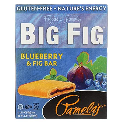 Pamela's Products Big Fig,Blueberry&Fig,4C 5.64 Oz (Pack Of 8)
