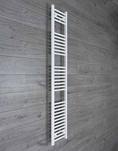 Radiador Toallero Pleno Recto Térmico Blanco de 300mm de ancho x 1800mm de alto