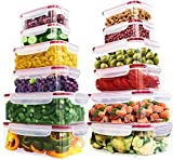 Best Tupperware Sets - Utopia Kitchen 24 Pieces Plastic Food Containers set Review