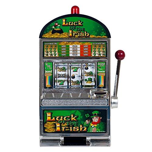 Trademark Poker RecZone Luck of The Irish Slot Machine Bank 15Inch