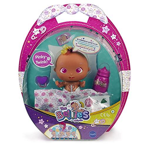 The Bellies - Pinky-Twink, muñeco Interactivo para niños y niñas de 2 a 8 años (Famosa 700014563)