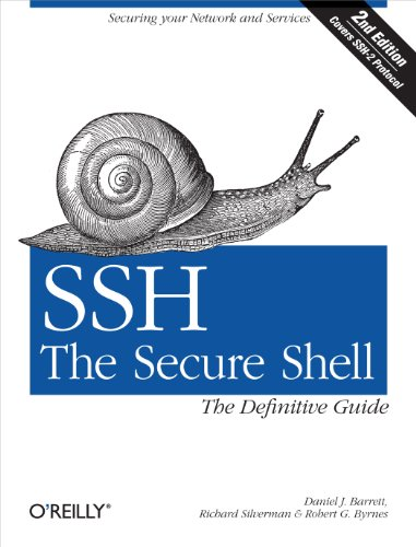 SSH, The Secure Shell: The Definitive Guide: The Definitive Gu