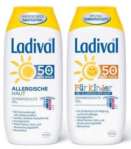Ladival Allergische Haut 50+ Eltern-Kind - Sparset plus gratis Weleda Sanddornhandcreme 10ml