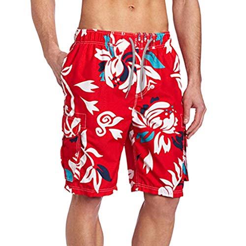 Shorts Playa Verano Pantalones Cortos Hombre de Deporte Shorts Nadar De Cómodo con Bolsillos Shorts De Secado rápido de fútbol Baloncesto,2021 Shorts De Entrenamiento Fitness Shorts Hombre de Running
