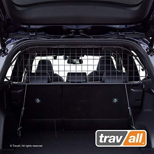 Travall Guard Hundegitter Kompatibel Mit Toyota RAV4 (Ab 2018) TDG1636 - Maßgeschneidertes Trenngitter in Original Qualität