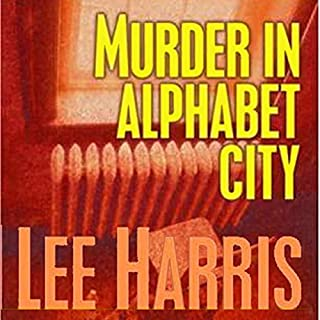 Murder in Alphabet City audiobook cover art