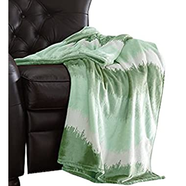 Amrapur 5OMBTRWG-SGE-ST Oversized Luxury Ombre Throws Sage,Standard