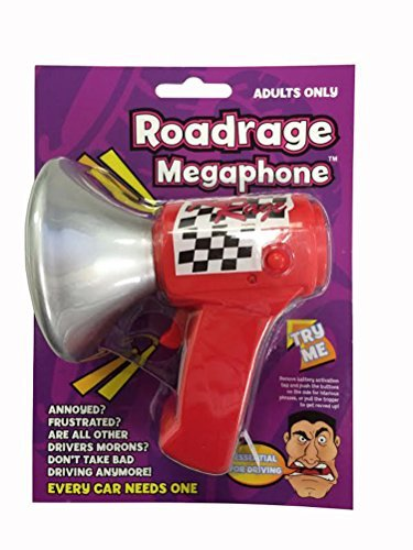 Playmaker Toys Road Rage Megaphone Adults Only
