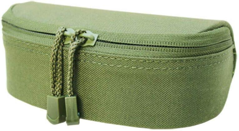 OD Green MOLLE Sunglasses Eyeglasses Case Padded Soft Lining Double Zipper