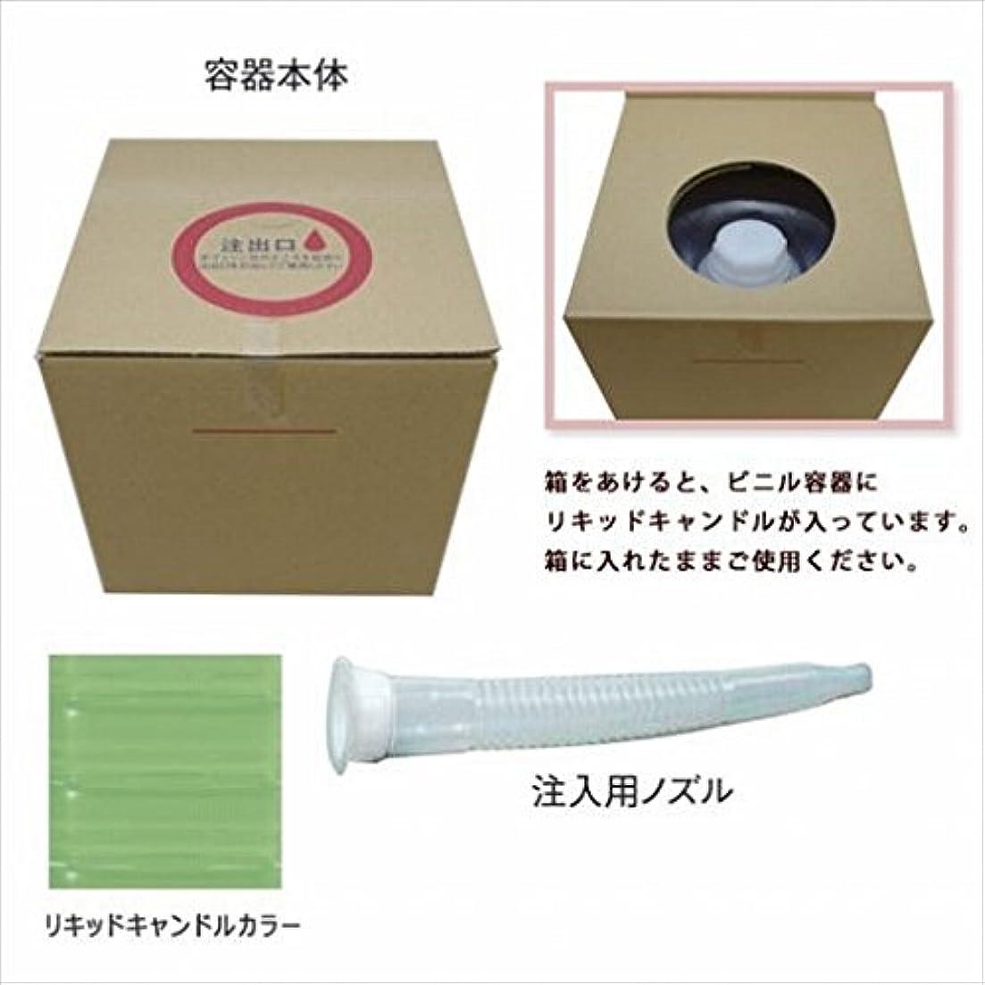 消毒する歩行者サーバカメヤマキャンドル(kameyama candle) リキッドキャンドル5リットル 「 ライトグリーン 」