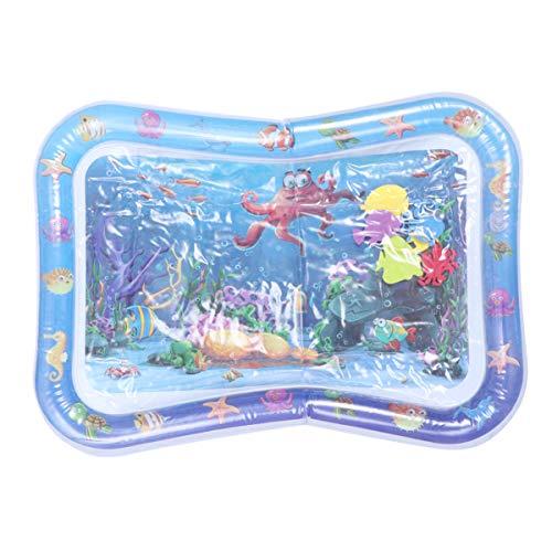 Tomaibaby Baby Wassermatte Kreative Octopus Design Aufblasbare Spielmatte Babyspielzeug für Kleinkinder Kleinkinder
