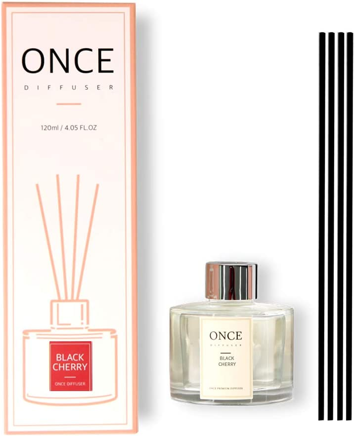 Once Los Angeles Mall Under blast sales Natural Reed Diffuser Set Scented Fragrance Of Home Perfume