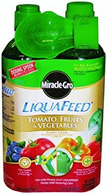 Miracle Gro 1004402 16 Oz LiquaFeed Tomato Fruit Vegetable Plant Food 2 Count product image