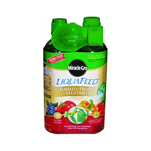 Miracle Gro 1004402 16 Oz LiquaFeed Tomato Fruit & Vegetable Plant Food 2 Count -  Miracle-Gro