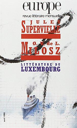 Jules Supervielle O. V. de L. Milosz, numéro 792