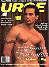 Urge Gay Magazine Johnny Hanson #14 December 1996