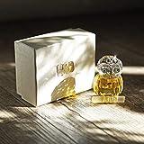 H & D Kristall Figur Eule Kollektion Briefbeschwerer Tisch Mittelpunkt Ornament, gelb - 5
