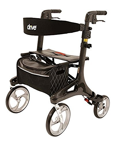 Drive Medical Rollator Nitro Carbon maat M