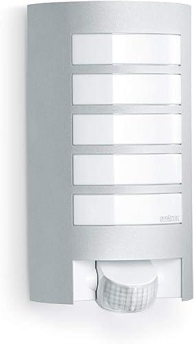 Steinel Luminaire extérieur L 12 avec détecteur de mouvement - Applique murale avec capteur de présence 60W - Lampe e...