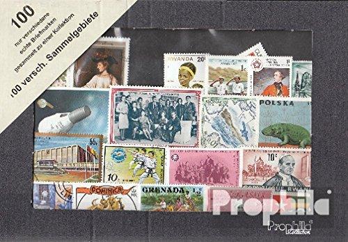 Prophila Collection Tutto Mondo 100 Diversi Francobolli Fuori Diversi Oggetto Collezioni (Francobolli per i Collezionisti)