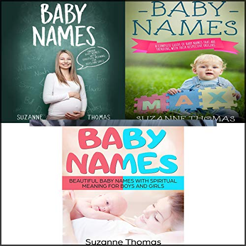 Baby Names: 3 Books in 1