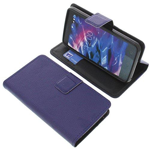foto-kontor Tasche für MEDION Life E4504 Book Style blau Schutz Hülle Buch