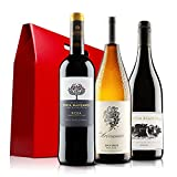 Classic Mixed Wine Trio in Gift Box - 3 Bottles (