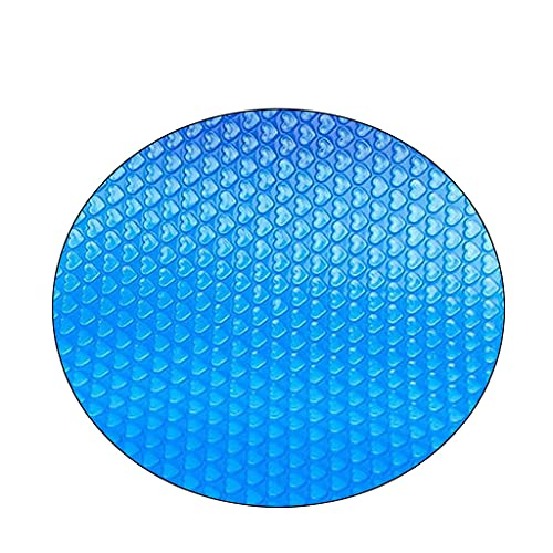 Solar Round Pool Cover for inground pools Easy Set Pool Cover Above Ground Pool Heater Round Solar Cover for Swimming Pool Keeps Out Leaves Debris Dirt Insects Quick Set (6 FT)