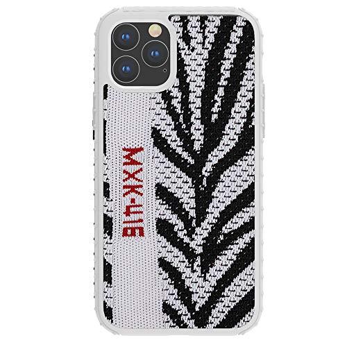 SharSon Yeezy 350 Schutzhülle für Apple iPhone 7/8 Plus, gestricktes Sport-Material, weich, rutschfest, Thermoplastisches Polyurethan, Zebra, One Size