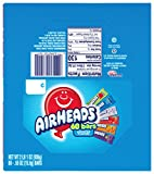 Airheads Candy Bars, Variety Stocking Stuffers Bulk Box, Chewy Full Size Fruit Taffy, Gifts, Back to School for Kids, Non Melting, Party 60 Count (Packaging May Vary)