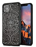 YFWOOD Compatible for iPhone 11 Case 6.1 inch, Unique Wood Shockproof Drop Proof Bumper Protection Cover for iPhone 11 (Totem)