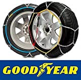Goodyear GODKN120 Catene Metalliche da Neve, T.120 9 mm, Set di 2