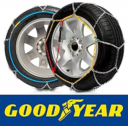 Goodyear GODKN120 Schneeketten 9 mm, T.120 9MM, Set of 2