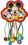 Set de 2 Piñatas Infantiles Decorativas'Playful Mickey Mouse Disney 28x23 cm'. Juguetes y Regalos Baratos para Fiestas de Cumpleaños, Bodas, Bautizos y Comuniones. AB