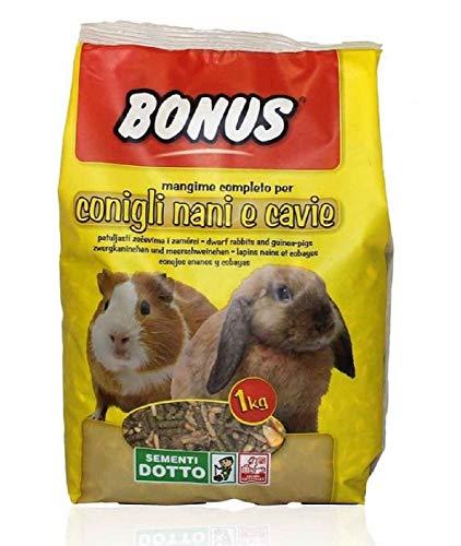 Bonus - Mangime per Conigli Nani e cavie