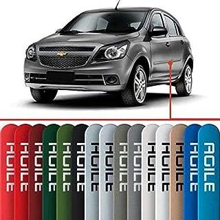 Friso Lateral na Cor Original Chevrolet Agile 2009 2010 2011 2012 2013 14 15